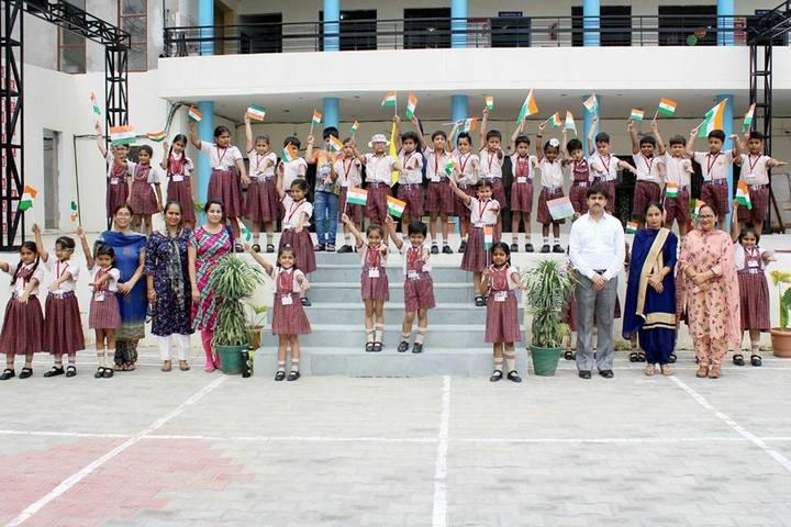 DAV Centenary Public School-Independence Day Celebrations