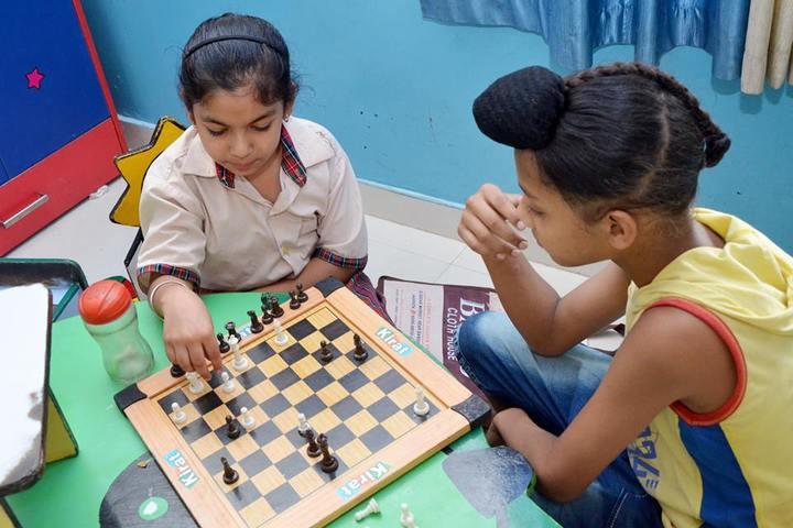 DAV Centenary Public School-Indoor Games