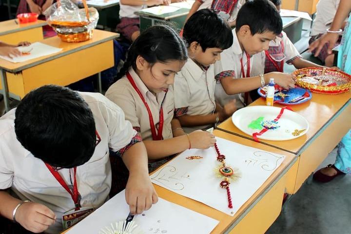 DAV Centenary Public School-Rakhi Making Competition