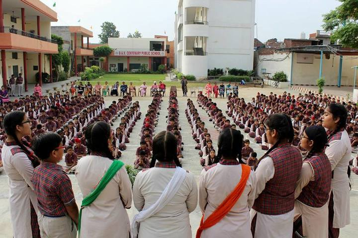 DAV Centenary Public School-Singing Competition