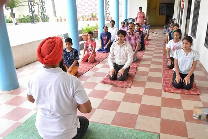 DAV Centenary Public School-Yoga