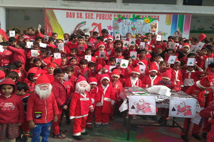 D A V Public School-Christmas Celebrations