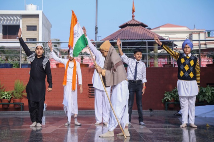 D A V Public School-Independence Day Celebrations