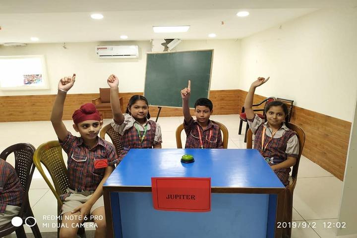 D A V Public School-Quiz Competition