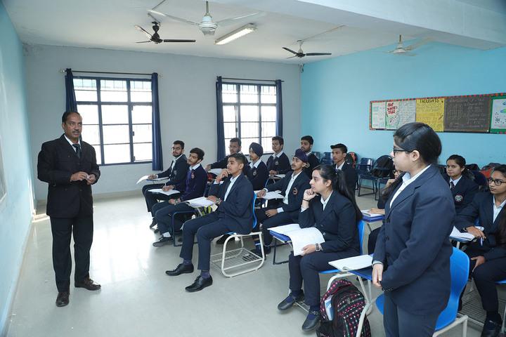 D C Model International School-Classroom