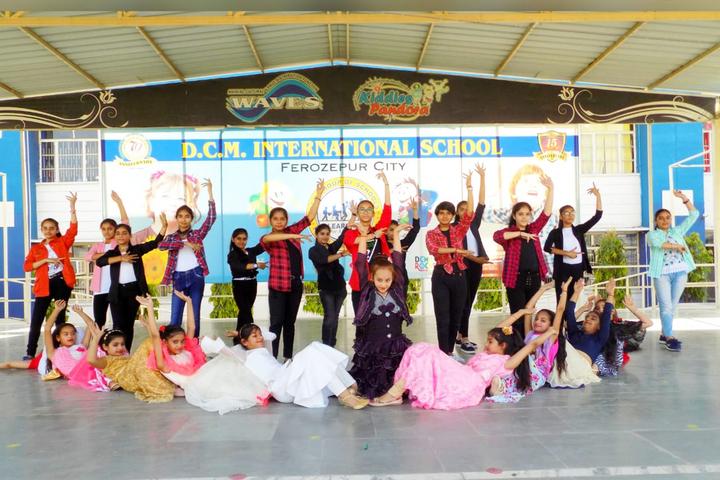 D C Model International School-Dancing Activity