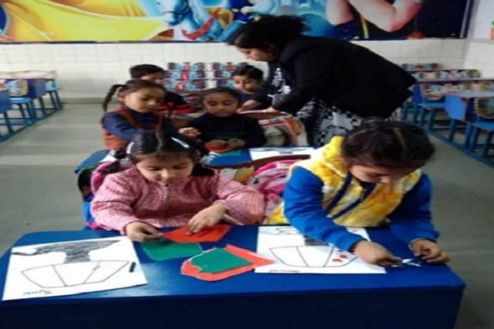 D C Model International School-Drawing Activity