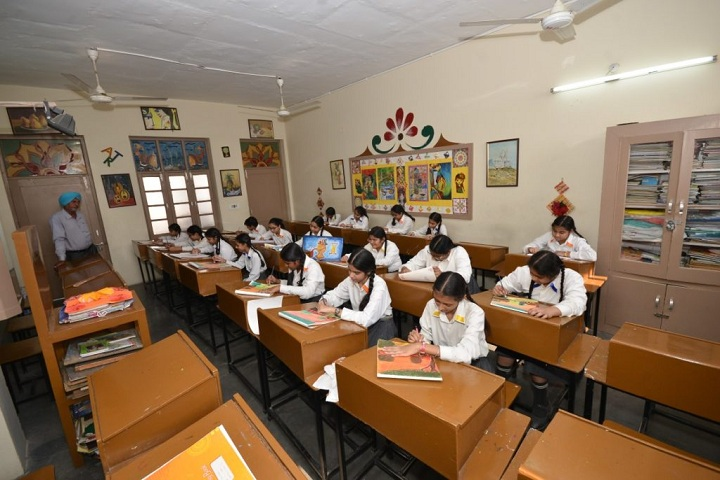 DN Model Senior Secondary School-Classroom