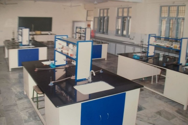 DN Model Senior Secondary School-Science Lab