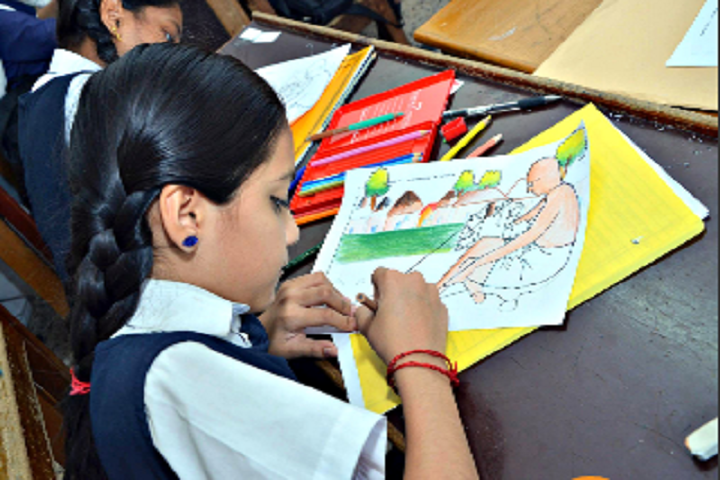 Hansraj Public School-Drawing Activity