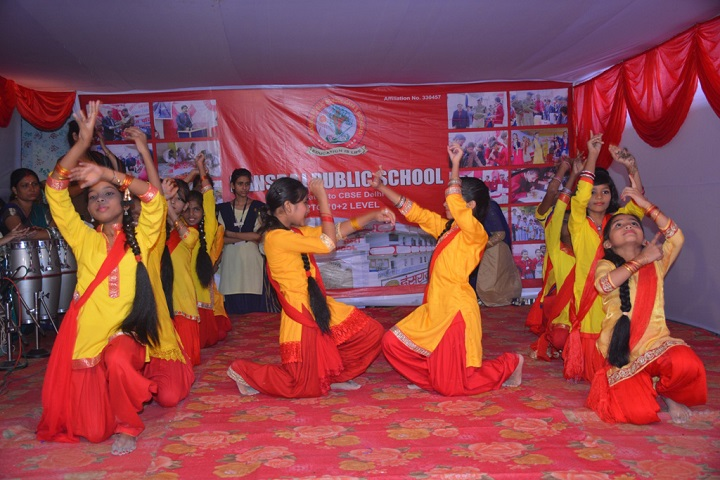 Hansraj Public School-Dancing Activity