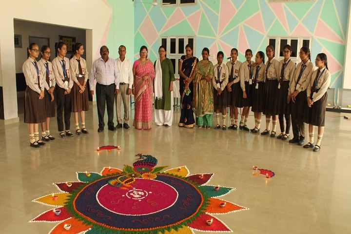D A V Public School-Diwali Celebrations