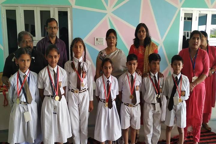 D A V Public School-Gold Medal Ceremony