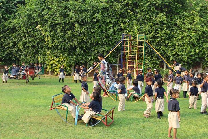 D A V Public School-Kids Play Area