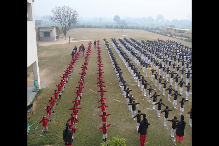 D A V Public School-Morning Assembly