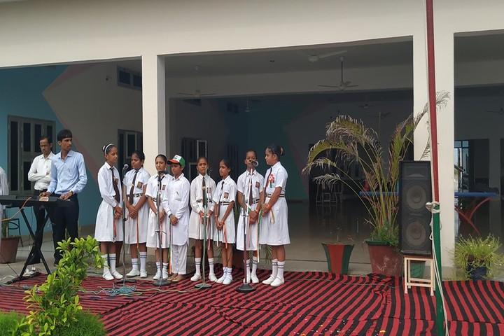 D A V Public School-Music Activity