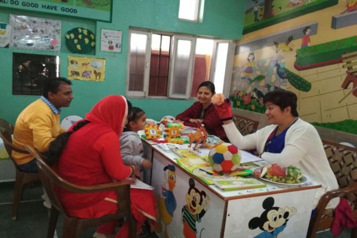 D A V Edward Ganj Senior Secondary Public School-Parents Meeting