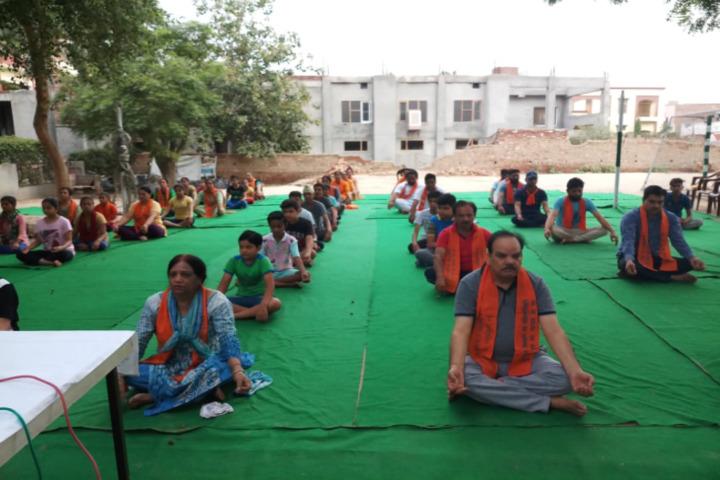 D A V Edward Ganj Senior Secondary Public School-Yoga