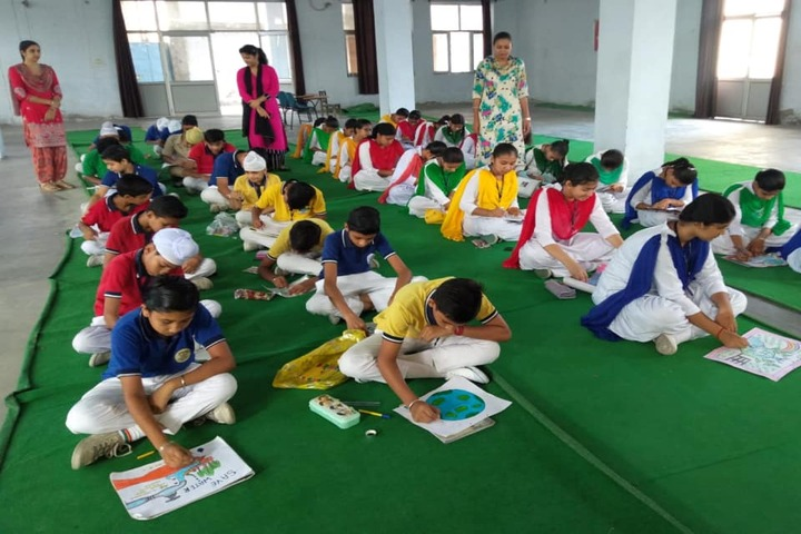 D A V Model Senior Secondary School-Drawing Competition