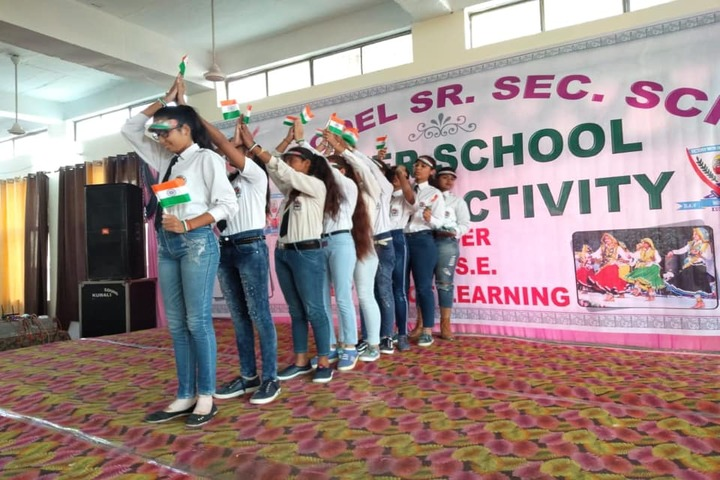 D A V Model Senior Secondary School-Independence Day
