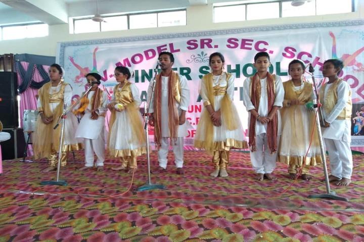 D A V Model Senior Secondary School-Music Activity