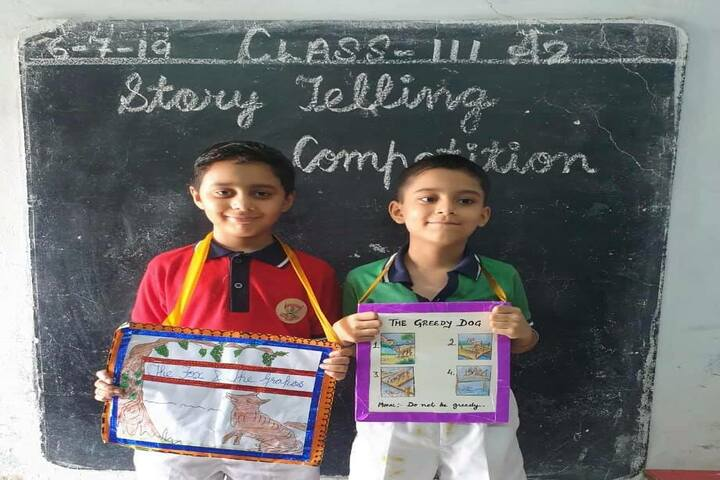 D A V Model Senior Secondary School-Story Telling Competition
