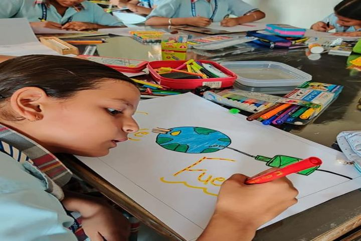 D C Model Senior Secondary School-Drawing