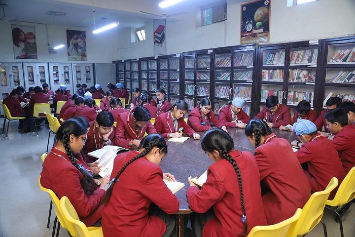 D C Model Senior Secondary School-Library