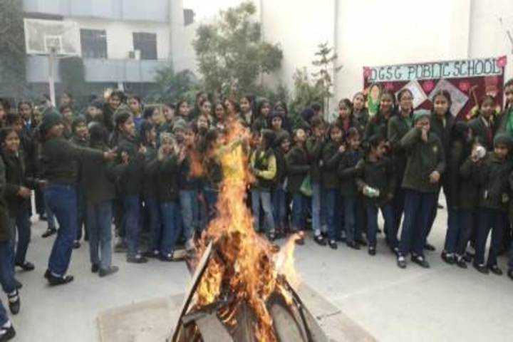 D G S G Public School-Lohri Festival