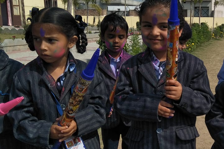 Holi Celebration at School