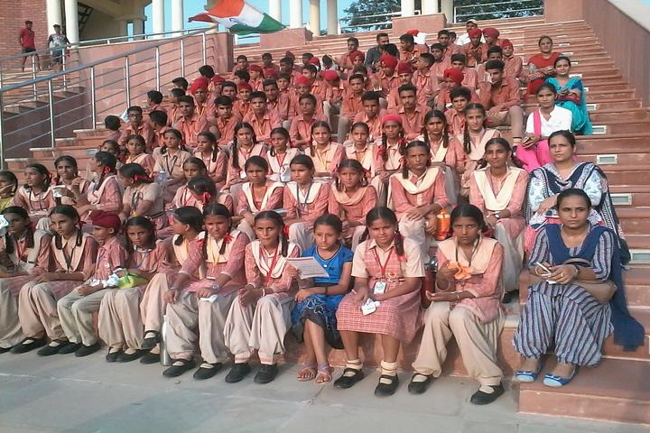 D V M Public School-Students