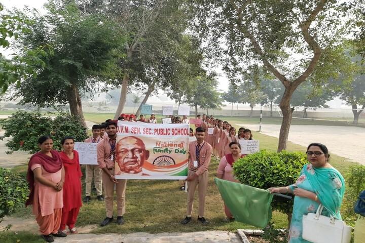 D V M Public School-National Unity Day