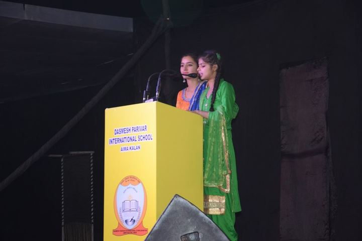 Dashmesh Parivar International School-Speech