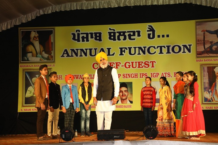 Dashmesh Parivar International School-Anual Function