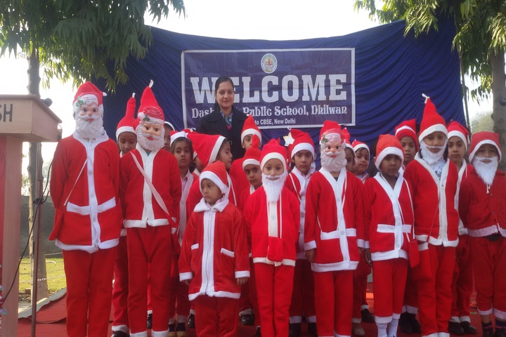Dashmesh Public School-Christmas Celebrations