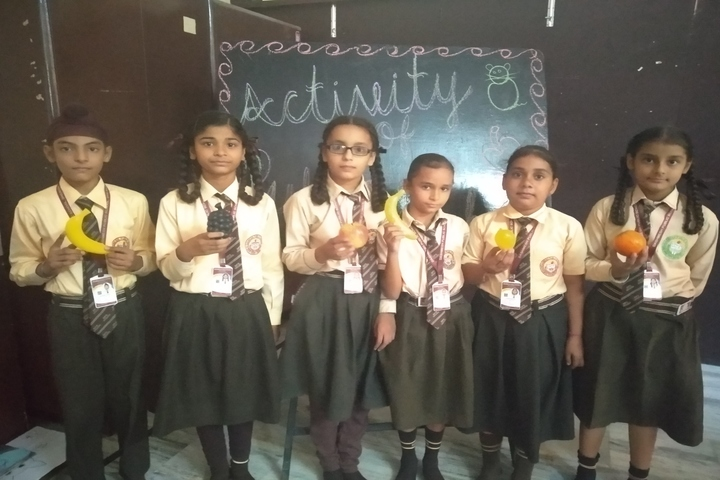 Dashmesh Public School-Fruit Activity