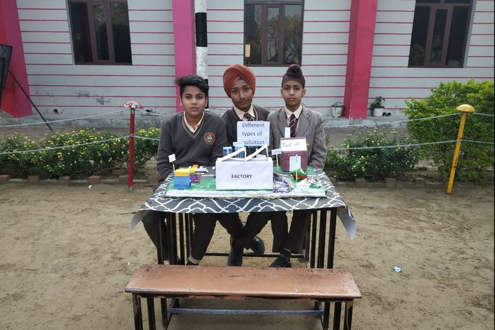 Dashmesh Public School-Science Exhibition