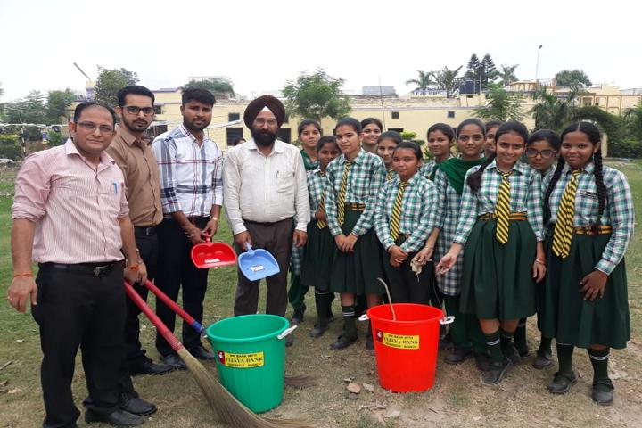 Dasmesh Public School-Cleaning