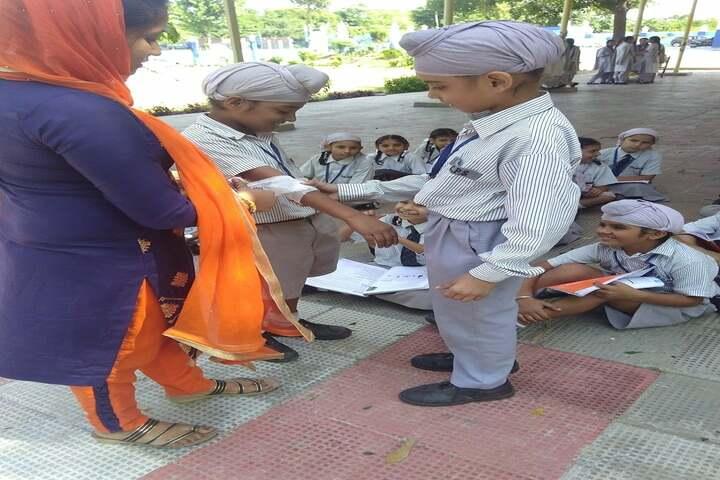 Data Bandhi Chhod Public School-First Aid Learning