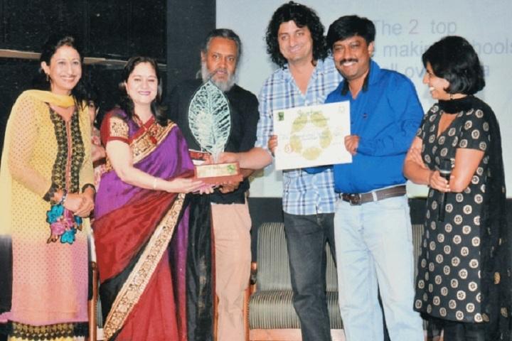 Dav International School-Annual Prize Distribution