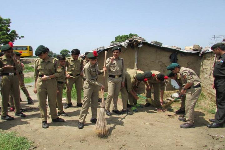 DAV International School-Swach Bharat