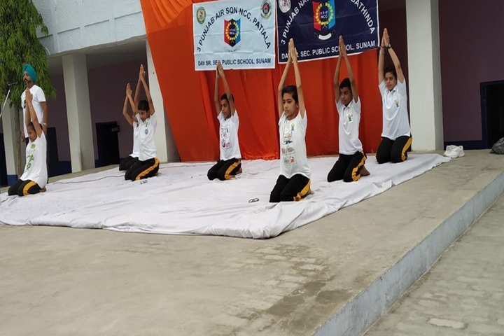 DAV Senior Secondary Public School-Yoga