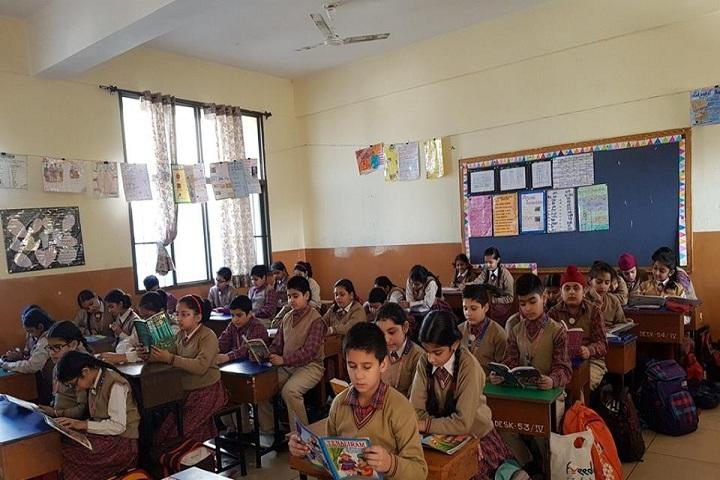 Dav Public School- Classrooms