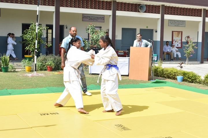 Dav Public School-Karate