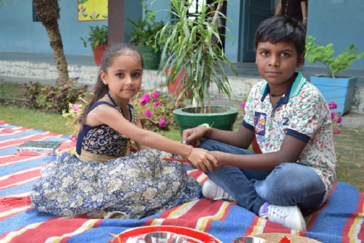 Dav Public School-Rakshabandhan Celebration