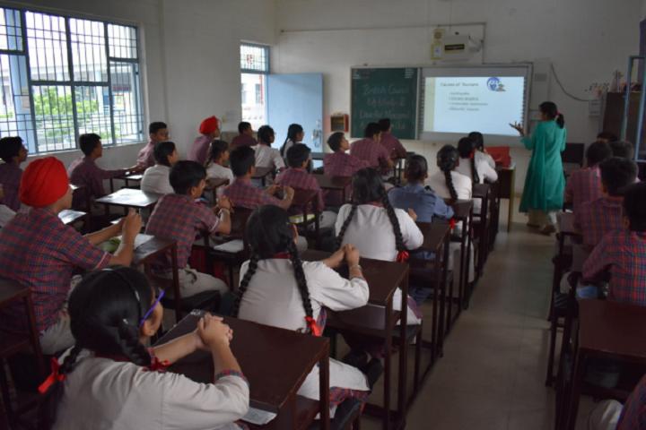 DAV Public School-Smart Classrooms