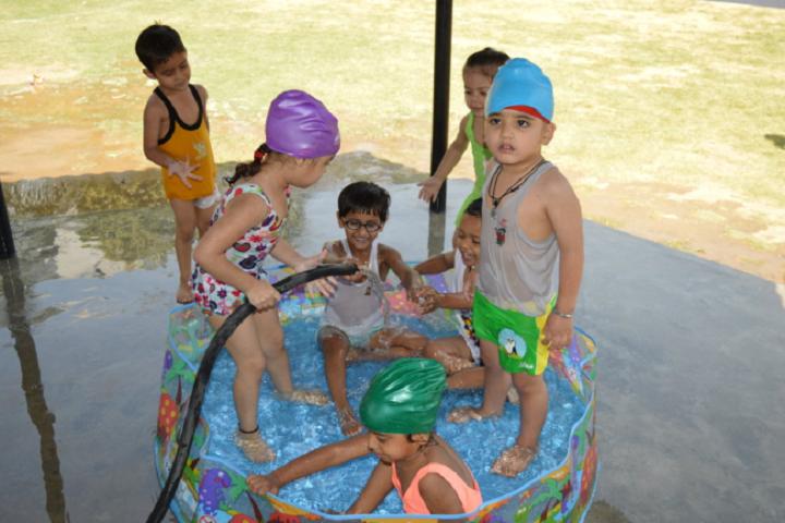 DAV Public School-Splash Pool