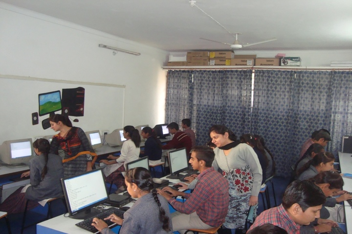 Dayanand Chanan Lal Senior Secondary School-Computer Lab