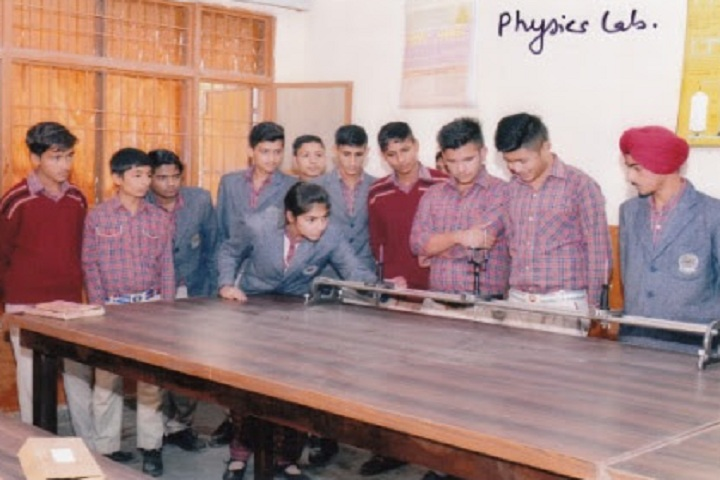 Dayanand Chanan Lal Senior Secondary School-Physics Lab