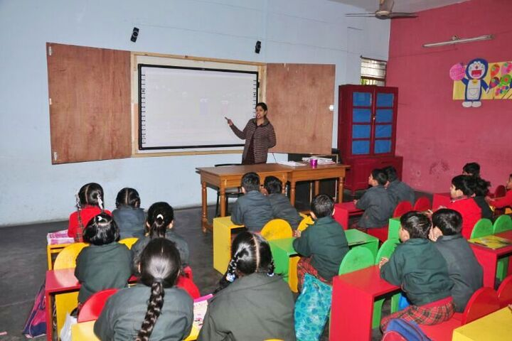 Dayanand Model School-Classroom